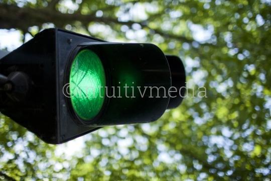Grünes Licht Ampel