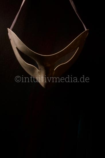 Anonymität Maske Symbolbild