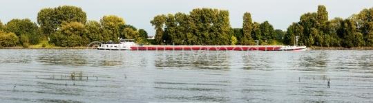 Rhein Schiff Panorama