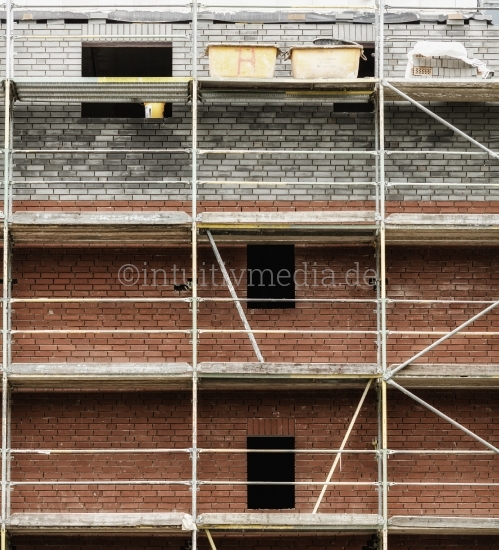 Gerüst: Haus bauen