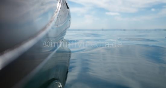 Kayak im See