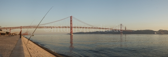 Lisboa Bridge Panorama