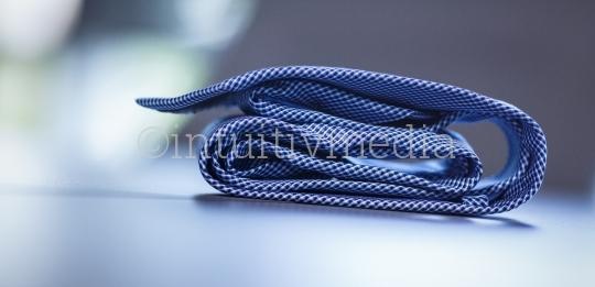 Gefaltete Krawatte