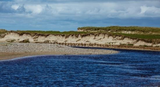 Wilder Strand in Irland