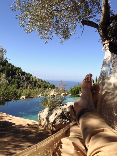 Mallorca aus der Hängematte