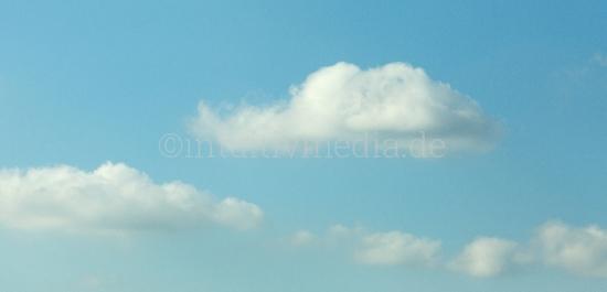 Helle Wolken