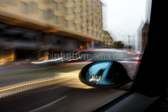 Fahrt durch die Stadt