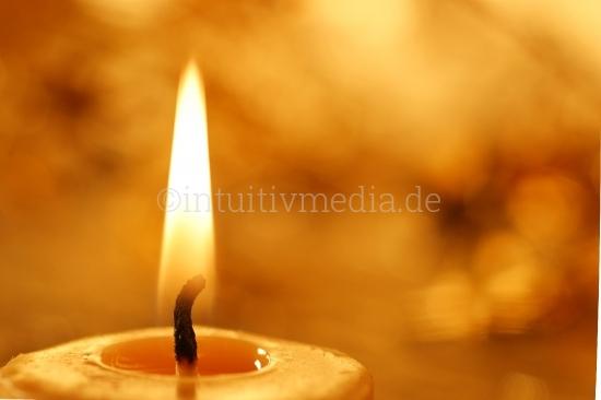 Brennende Kerzen Flamme