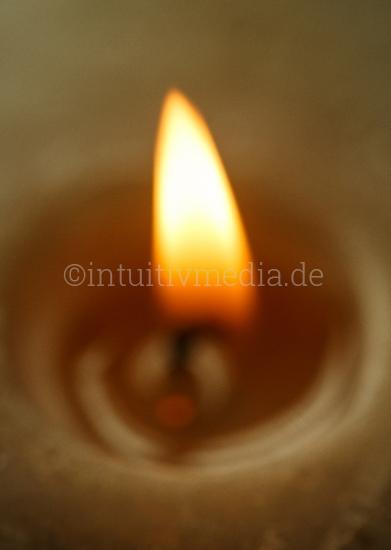 Kerzenflamme Closeup