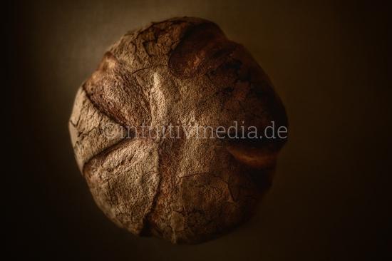 Laib Bio Brot Kruste