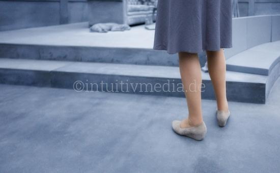 Beine eine Frau