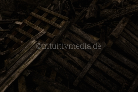 altes Holz - Palletten