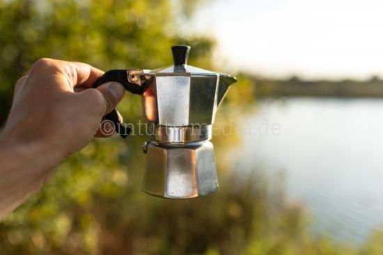 Espresso Kanne Outdoor