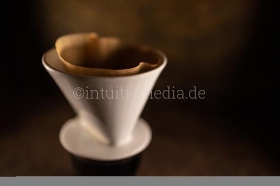 Kaffe im Filter