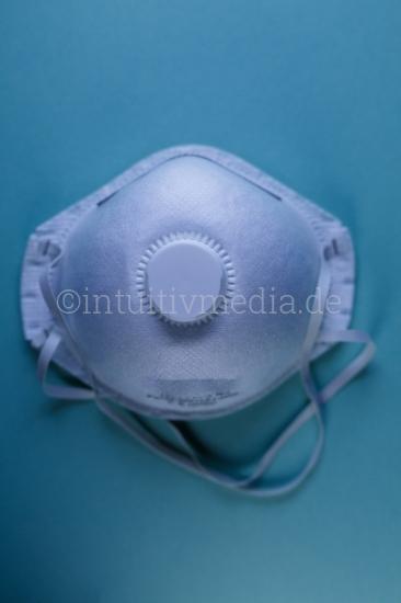 Atemschutzmaske Schutzmaske closeup