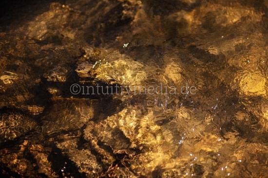 Closeup Wasser im Bach
