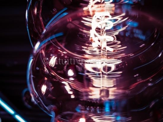 LED Lampe Closeup
