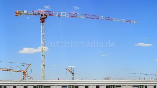 Krahn Panorama über Baustelle