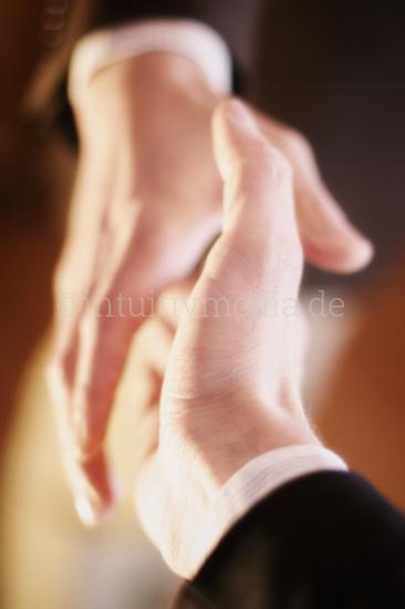 Business Handshake closeup