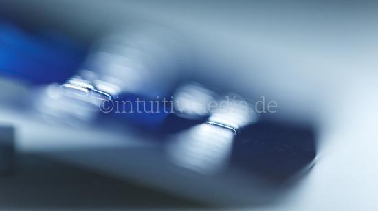 Credit card numbers closeup