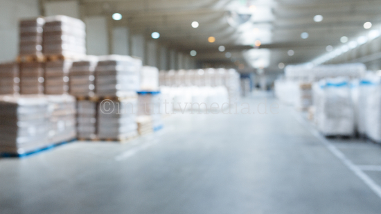 Large warehouse from inside