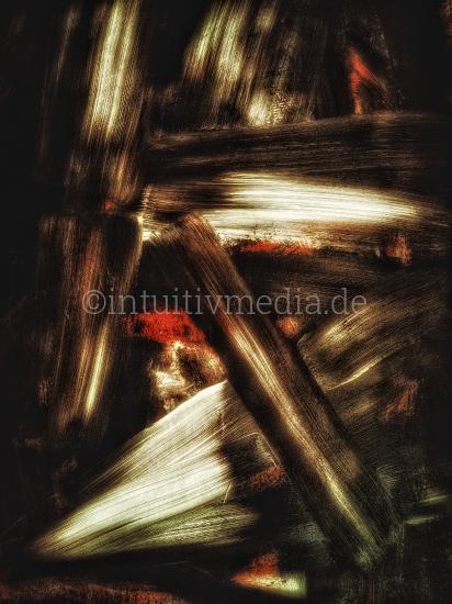 Abstrakte digitale Malerei - Raumbild - Photopainting