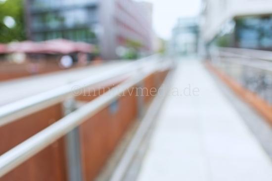 Blurred location Modern Business