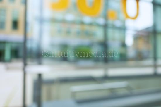 Blurred glass modern