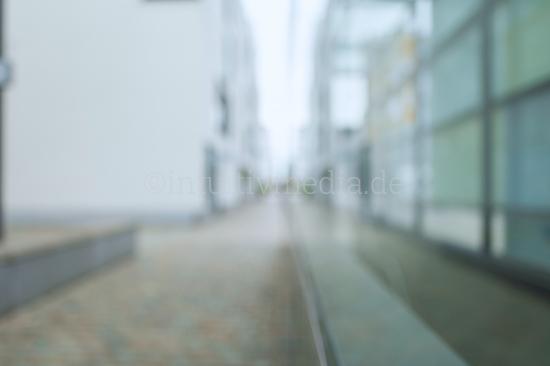 Blurred Background Modern empty