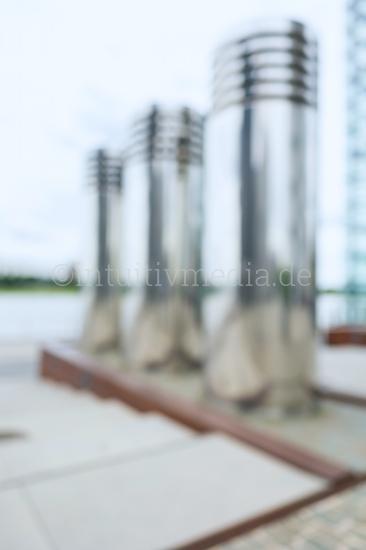 Blurred Background Rheinauhafen