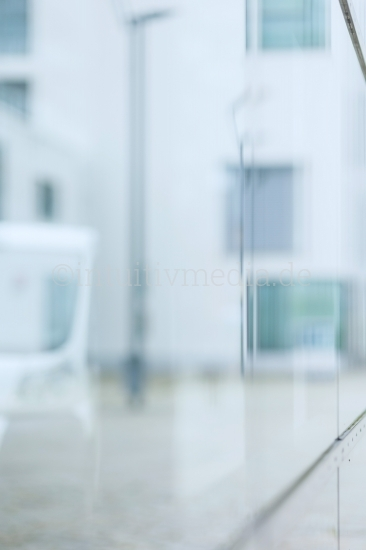 Light glass background blurred