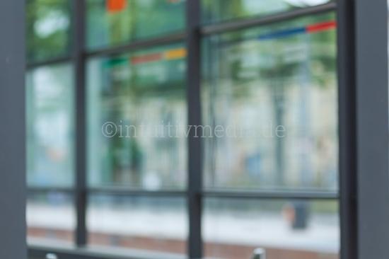 Blurred window Modern Business