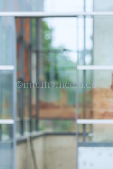 Blurred Background Modern glass