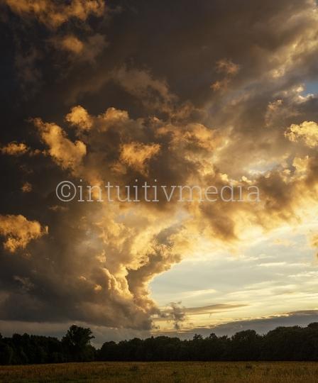 Wolken Panorama in hoher Auflösung