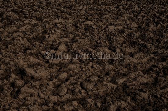 Gepflügte Erde - Feld Acker Boden