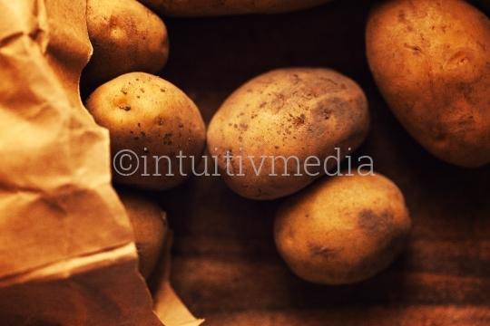 Kartoffeln aus der Tüte