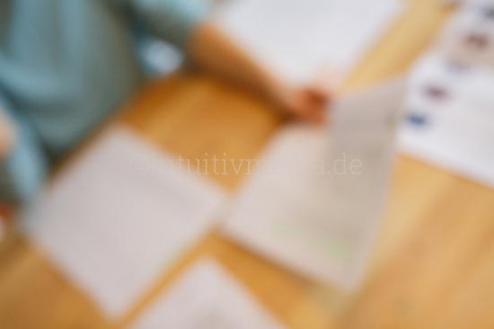 Schreibtisch unscharf - business moods