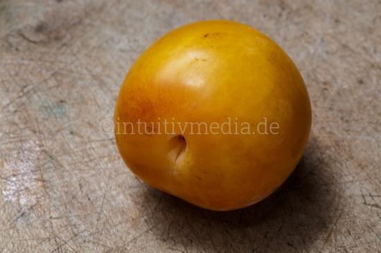 Gelbe Frucht