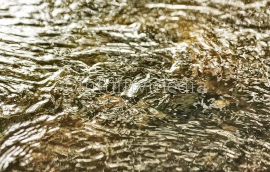 Fließendes Wasser eines Bach