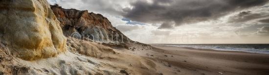 Küste der Algarve Panorama