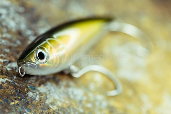Kunstfisch Wobbler Close-up