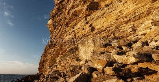 Felsen aus der Algarve in Portugal.