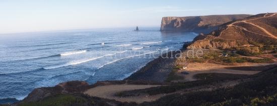 Wilde Küste in Portugal