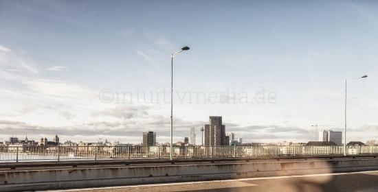 Kölner Stadt Silhouette