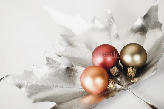 3 Weihnachtskugeln - Weihnachtsschmuck