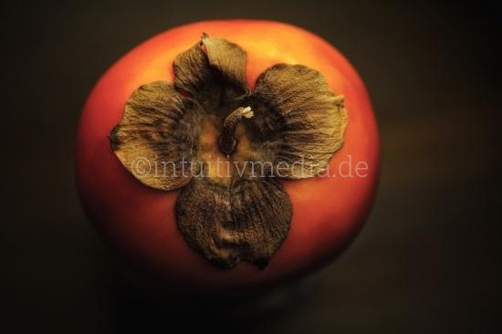 Kaki Frucht Closeup