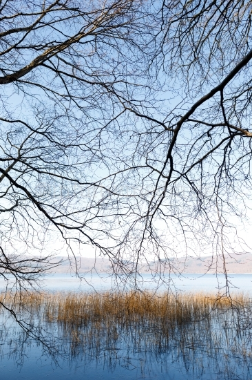 Laacher See im Winter