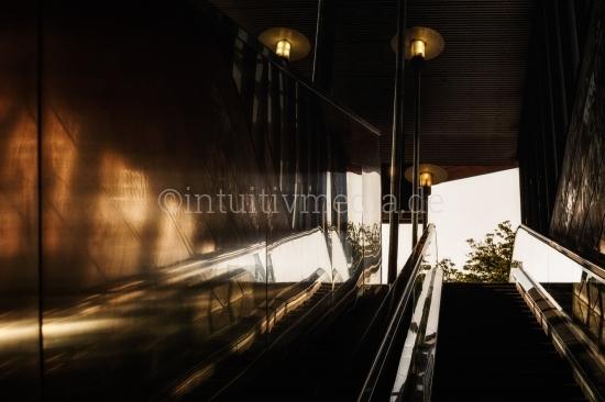 Rolltreppe in Köln