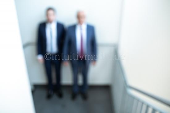 Zwei Geschäftsmänner