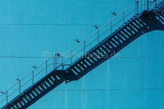 Industrie Treppe